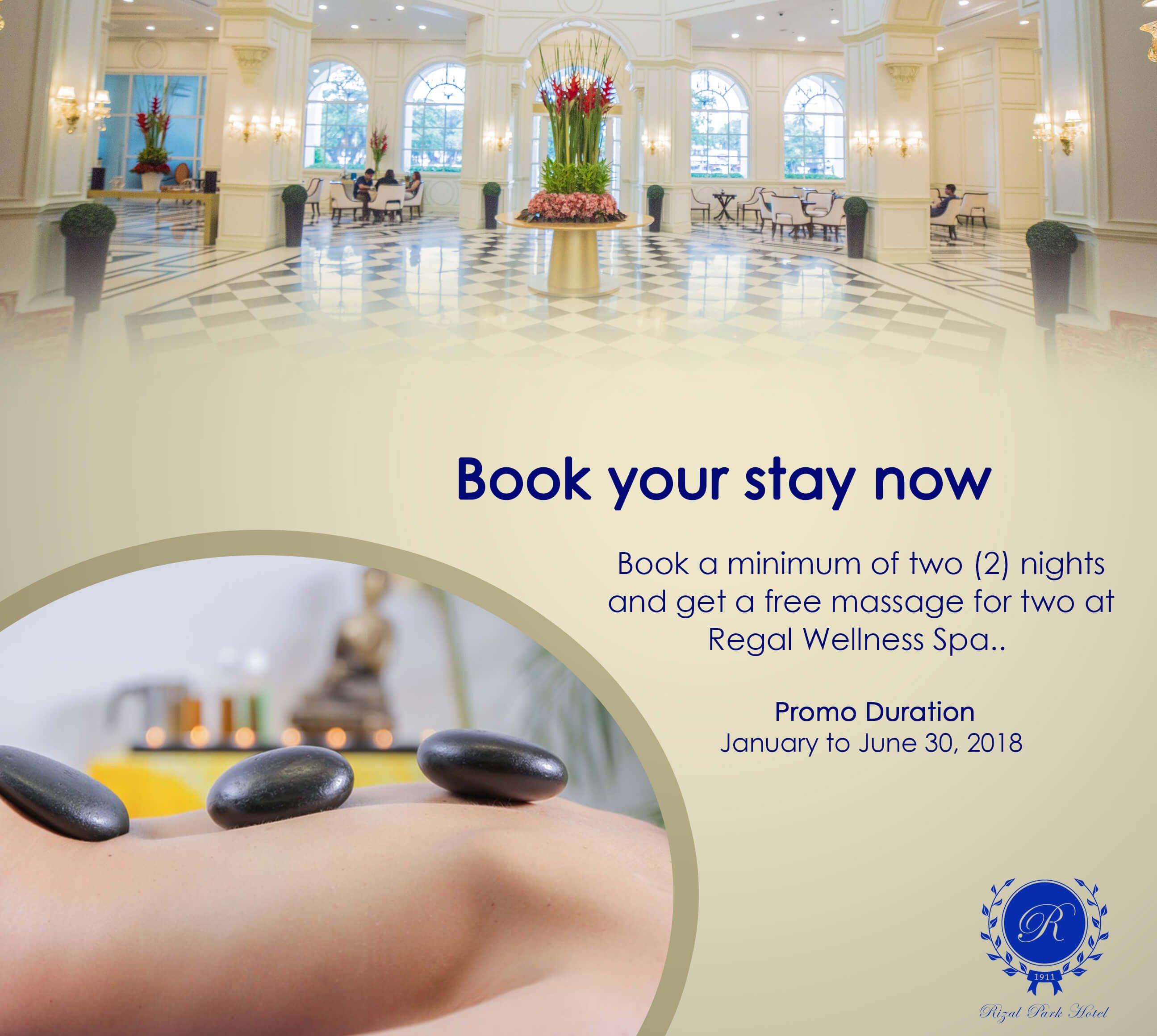 Rizal Park Hotel - Spa